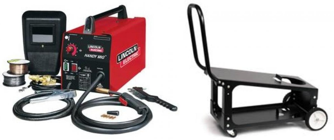 Lincoln K2185-1C Handy MIG with K2275-3 cart $407.24, Free Shipping ...
